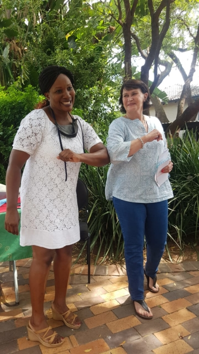 End of year staff braai and long service awards
